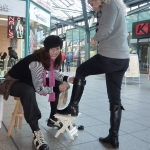 Comedy Schuhputzerin WalkingAct 09
